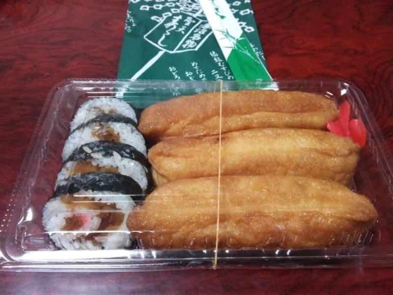 妻沼聖天寿司(2)