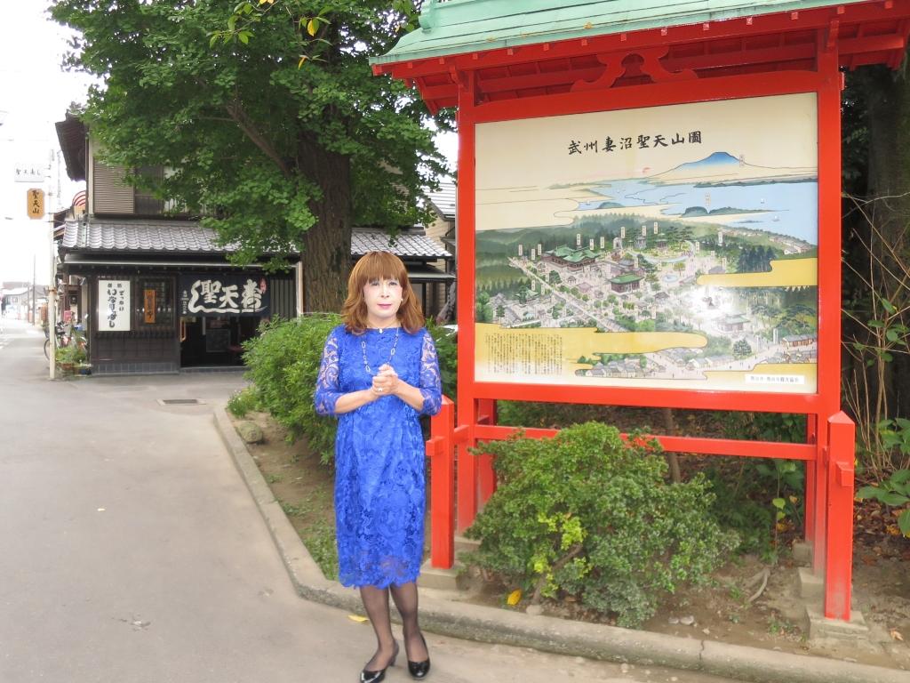 青レースワンピ聖天山B(3)