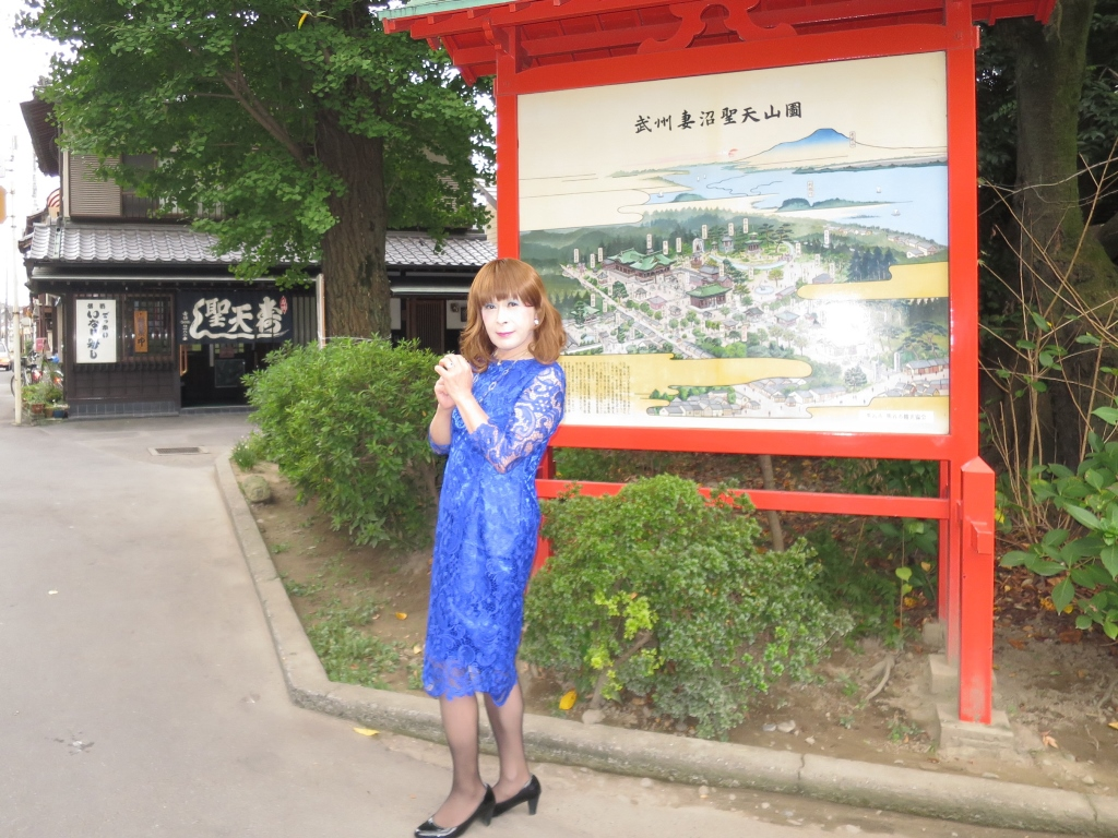 青レースワンピ聖天山B(5)