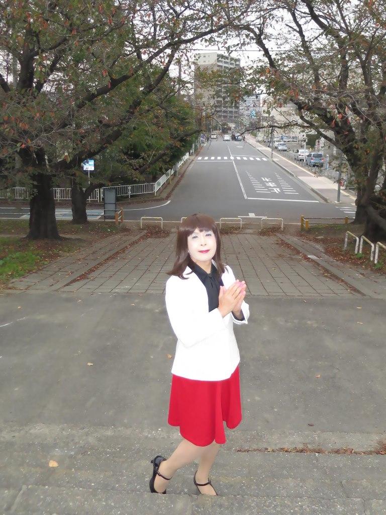 白縞ジャケット赤スカートA(1)