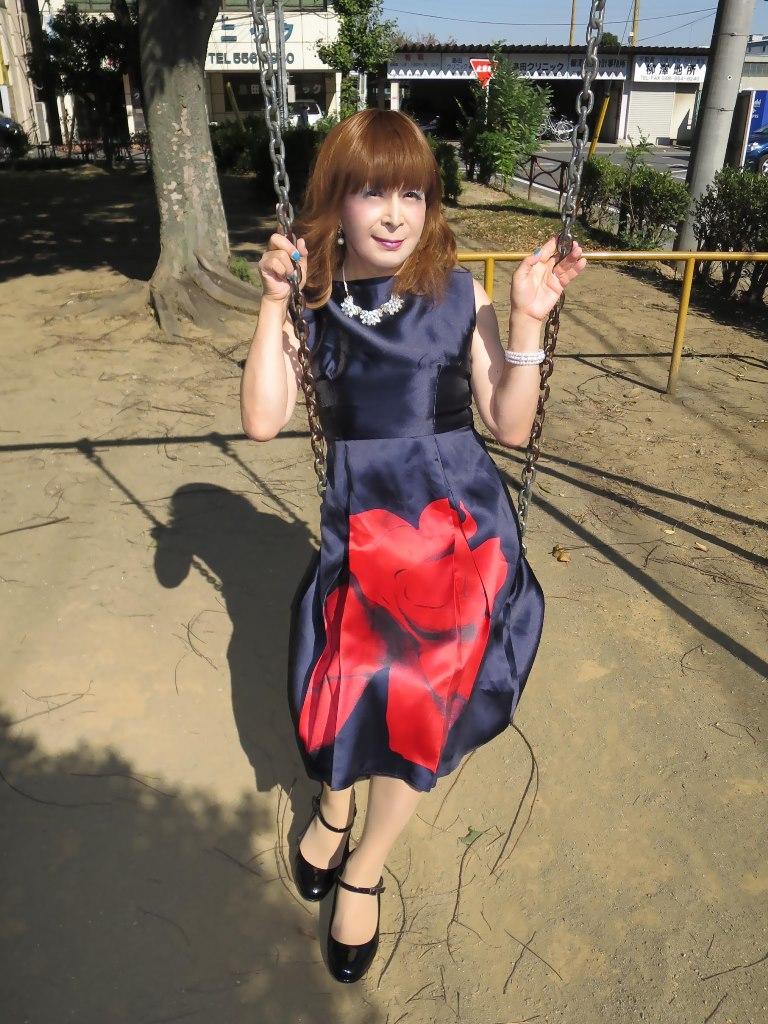 紺ワンピA(5)