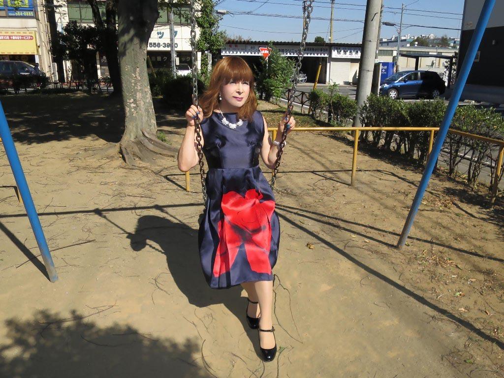 紺ワンピA(6)