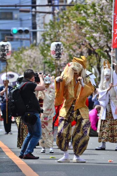 2016 浅草観音うら「一葉桜まつり 江戸吉原おいらん道中」