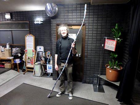 弓道の修業にやってきたフランス人 ②