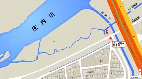 八ヶ村用水から下流側(1)