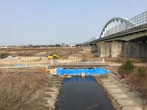八ヶ村用水から下流側(2)