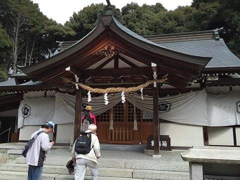 ウォーキング白山神社20130313
