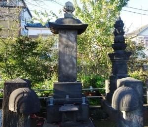 華族蒔田家歴世の墓