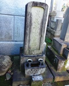 夏目成美の墓