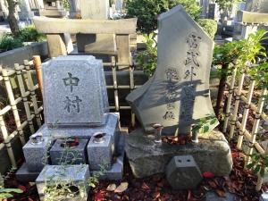 宮武外骨の墓