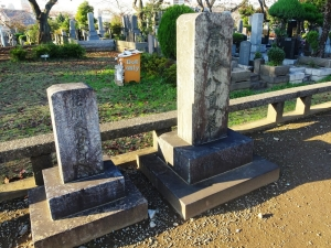 松戸徳川家の墓所