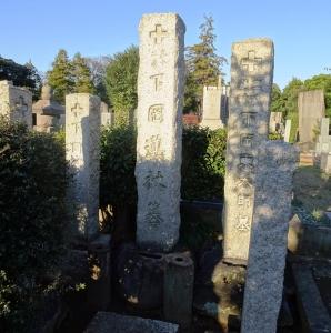 下岡蓮杖の墓