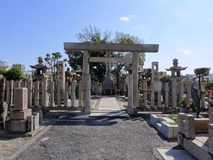 五代友厚墓所
