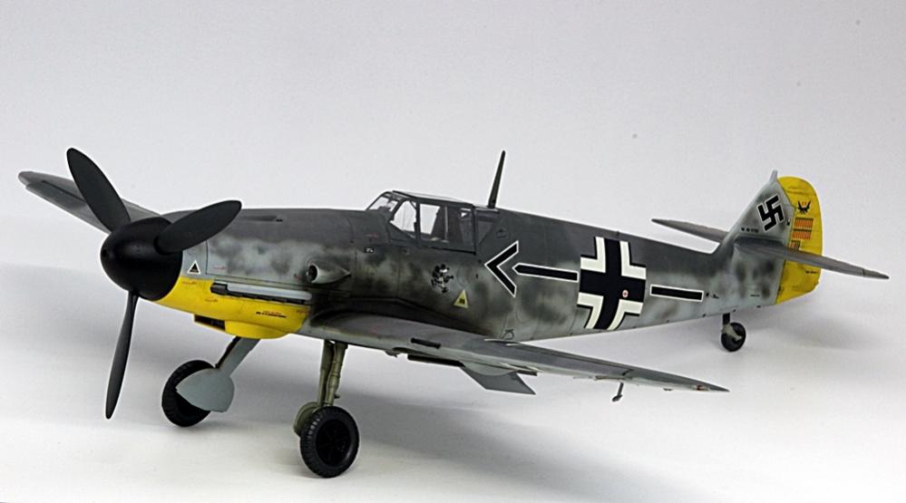 メッサーシュミットbf109f-6ガーランド-2