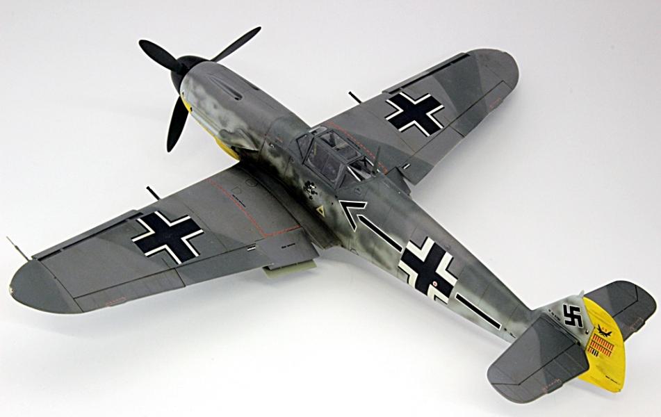 メッサーシュミットbf109f-6ガーランド-3
