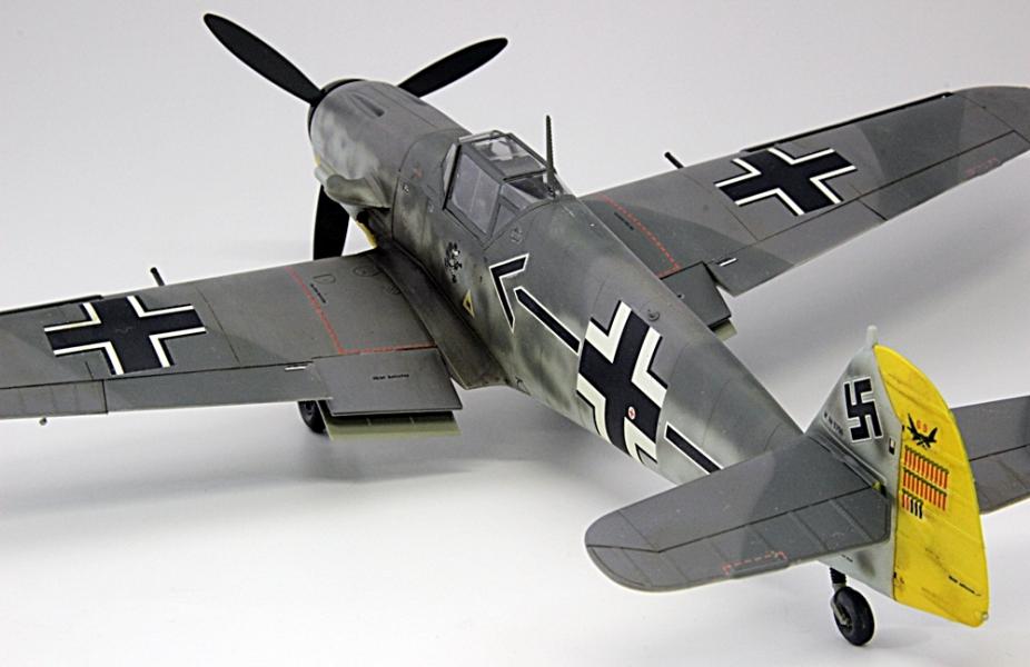 メッサーシュミットbf109F-6ガーランド-4