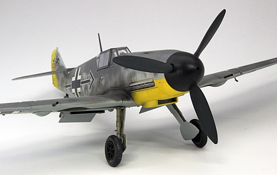 メッサーシュミットbf109F-6ガーランド-5