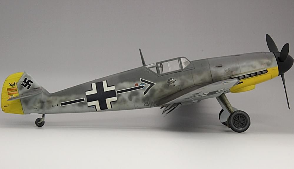 メッサーシュミットbf109F-6ガーランド-7