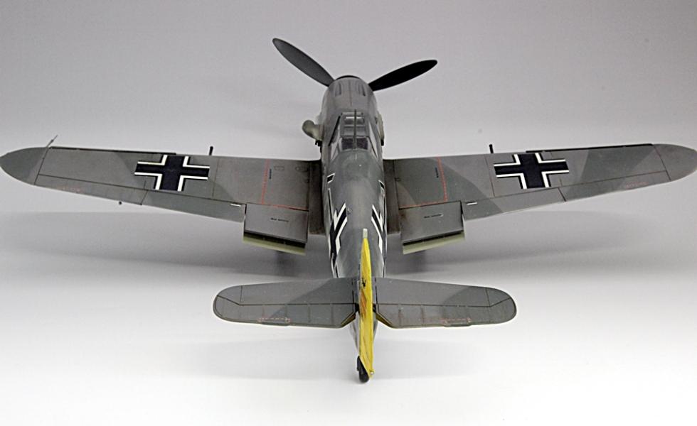メッサーシュミットbf109F-6ガーランド-8