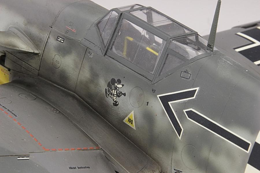 メッサーシュミットbf109F-6ガーランド-9