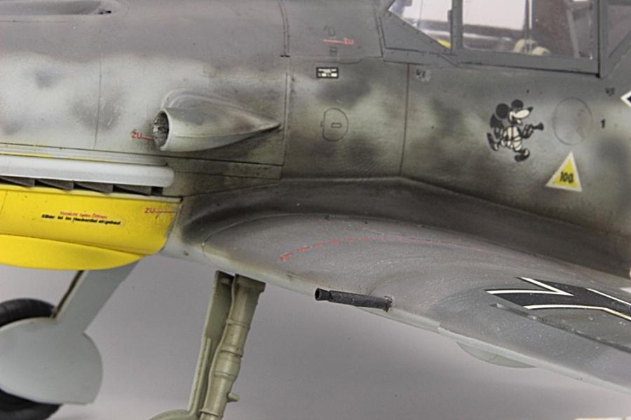 メッサーシュミットbf109F-6ガーランド-10