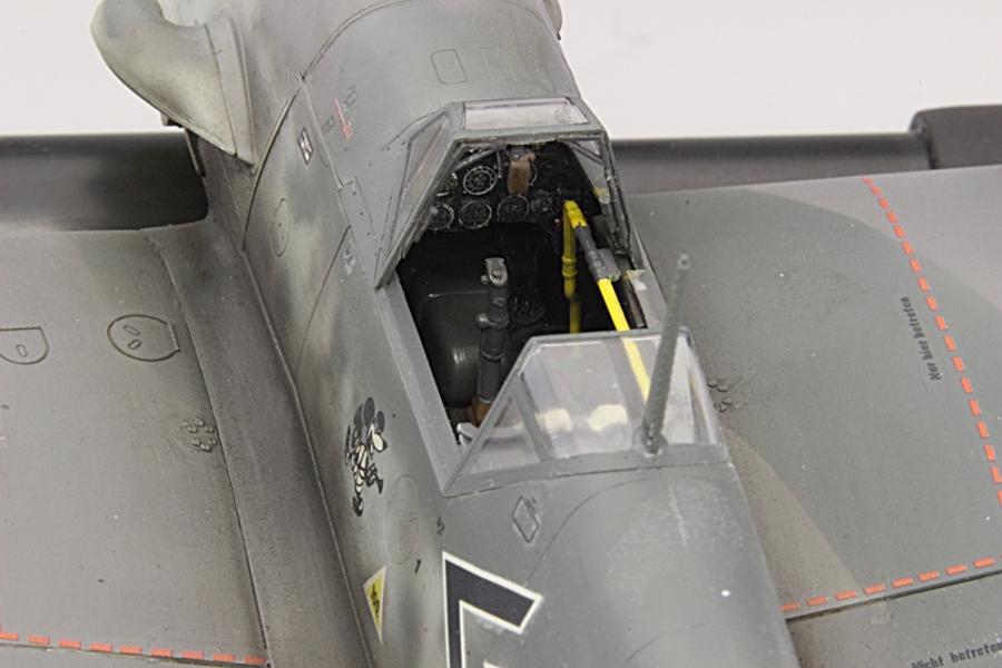 メッサーシュミットbf109F-6ガーランド-12