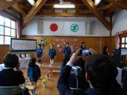 にしききた幼稚園卒園式1