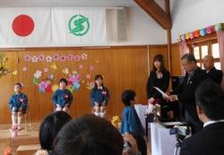 にしききた幼稚園卒園式2