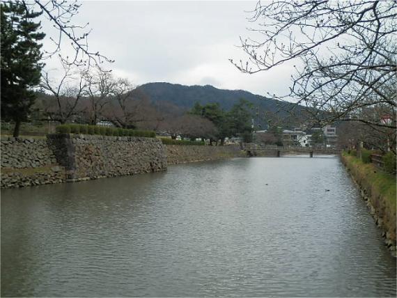 久松公園_堀