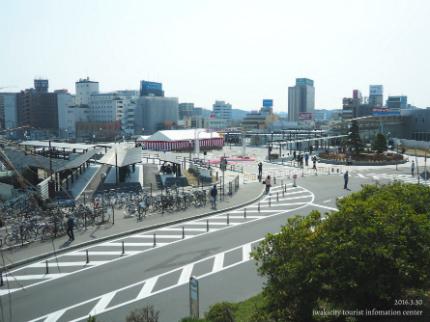 いわき駅北口交通広場2