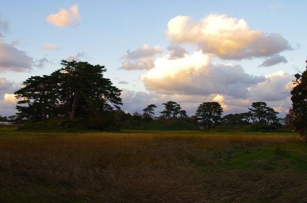 蚶満寺からの田園