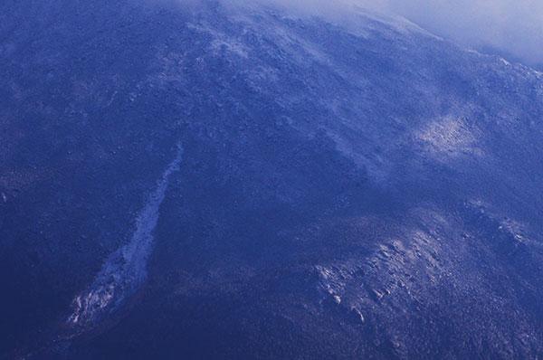 早池峰 アイオン沢の冠雪