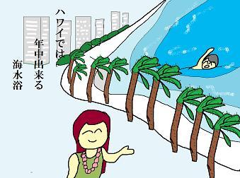 川柳:11月 「海水浴」
