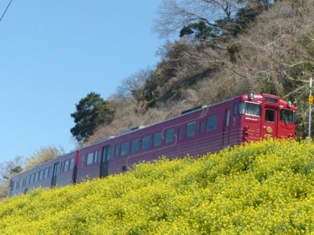 観光列車 「伊予灘ものがたり」 2
