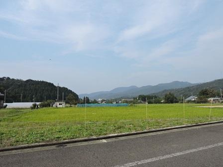 1芳春寺付近から若狭湾側を望む