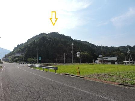 2芳春寺裏山(中山付城)
