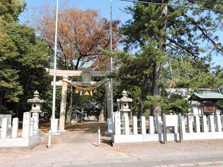 14本荘地区春日神社鳥居(ブログ用)