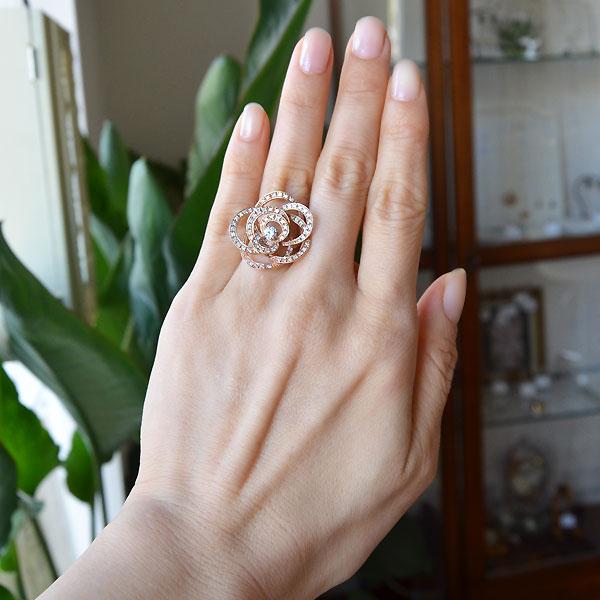 K18ピンクゴールドダイアモンドリング指輪カメリアモチーフD2338e.jpg