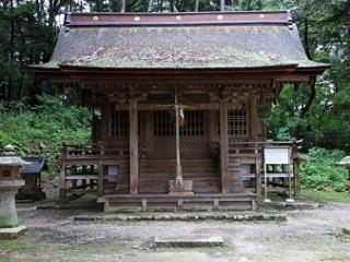 小野道風神社本殿