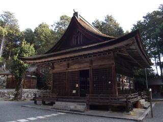 日吉大社摂社樹下神社拝殿