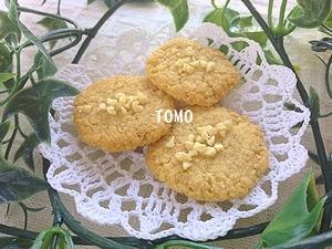 パン粉のクッキー1