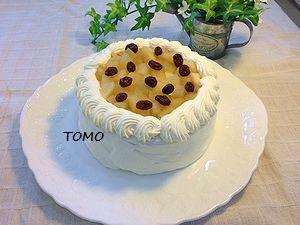 りんごのショートケーキ