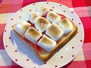 りんごのトースト2