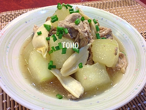 冬瓜と豚肉の中華煮