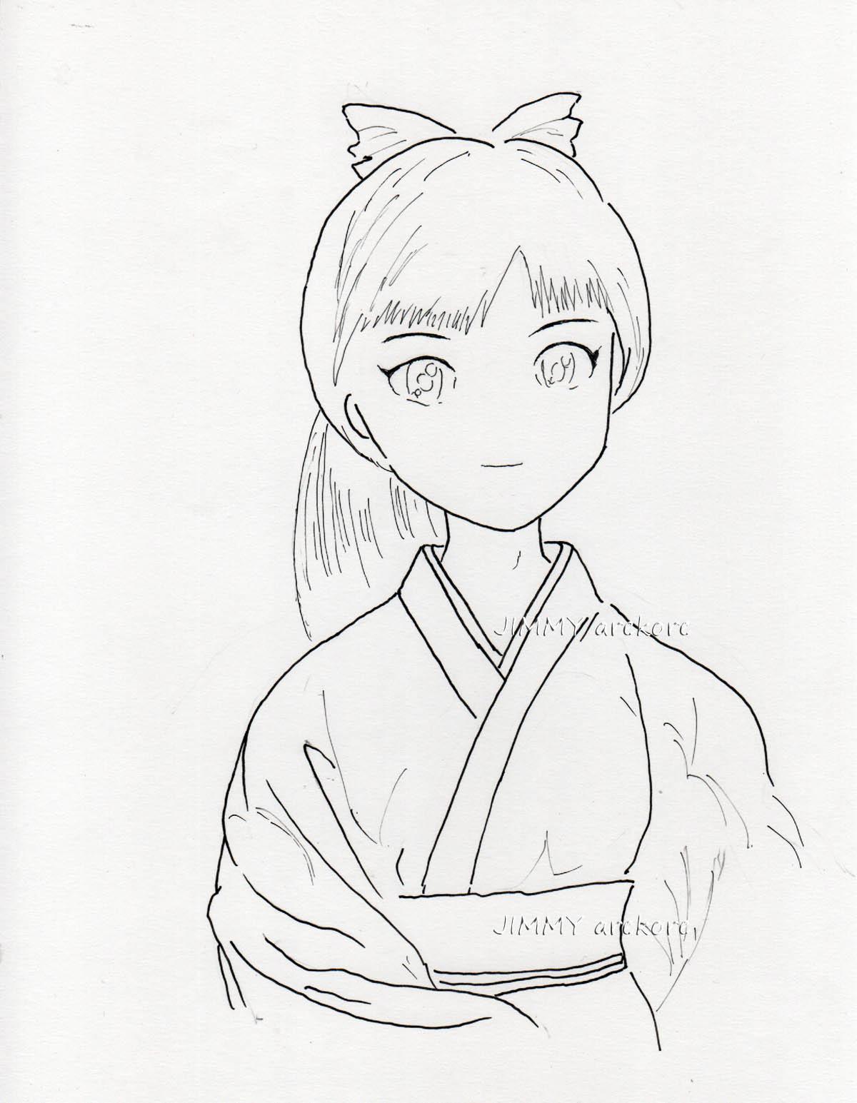 03_和服少女-LINE
