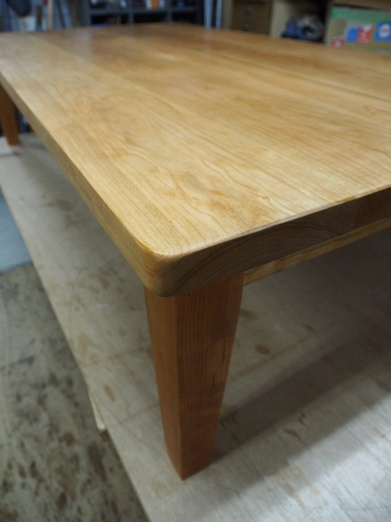 炬燵座卓 那須高原 じざい工房 小林康文の素材を活かす家具づくり