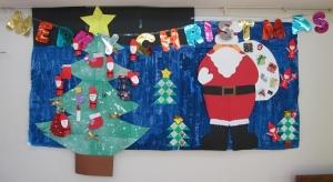 15クリスマス壁面