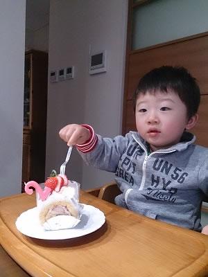 2歳誕生日4