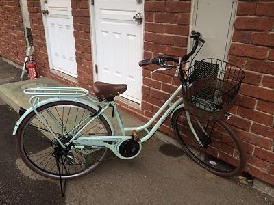 長女自転車