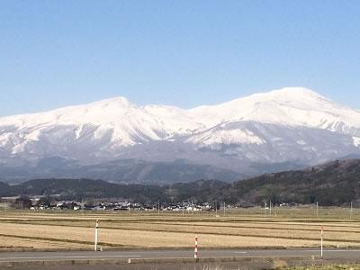 遊佐(鳥海山南側)